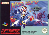 Photo de la boite de Mega Man X